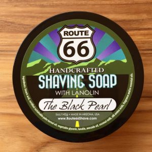 The Black Pearl Shaving Soap