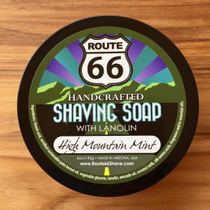 High Mountain Mint Shaving Soap