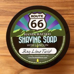 Bay Lime Twist Shaving Soap
